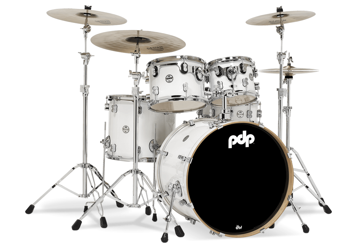 PDCM2215PW - Concept™  Maple - Pearlescent White - 5-Piece Kit