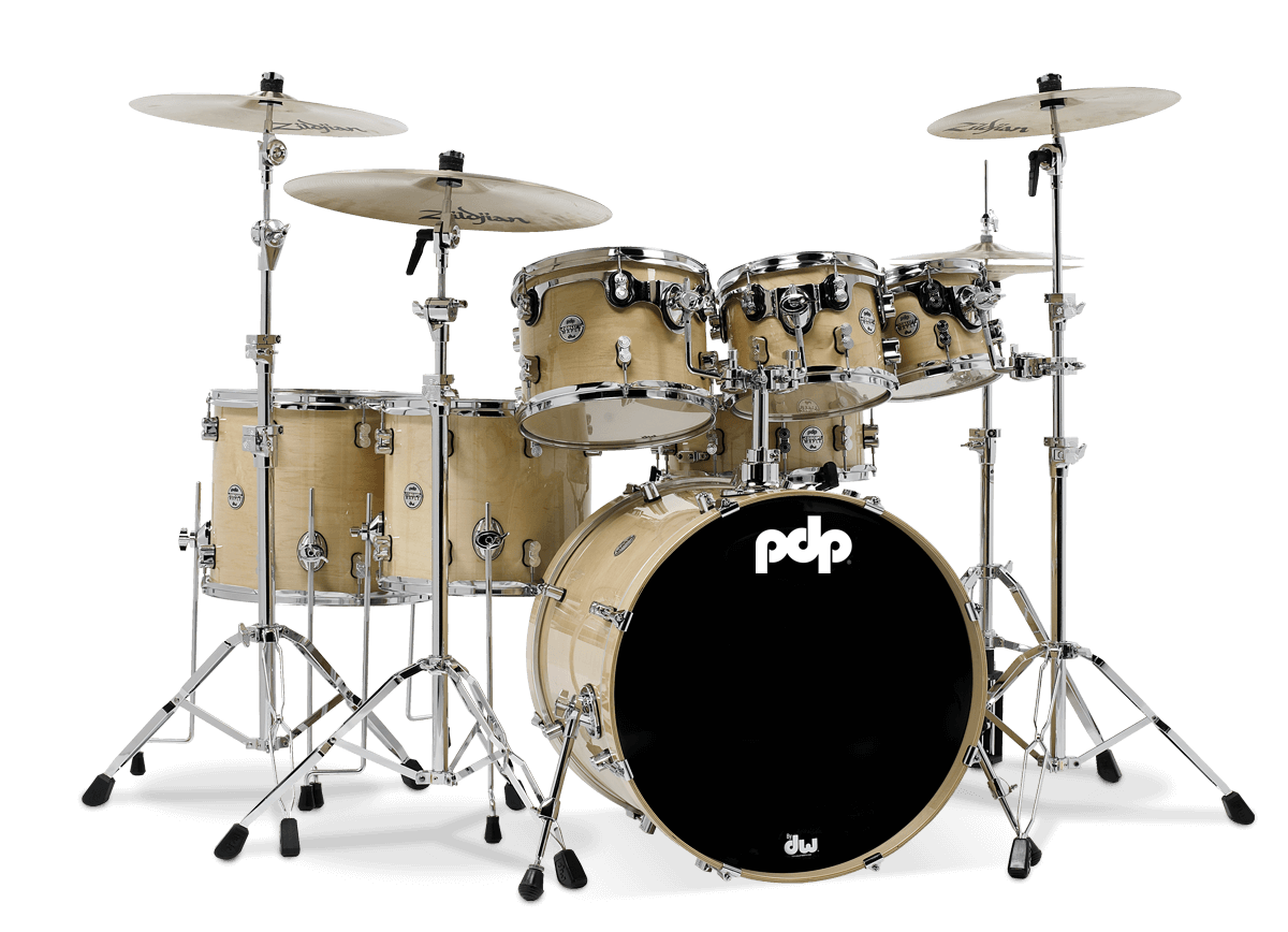 PDCM2217NA -Concept™ Maple - Natural Lacquer - 7-Piece Kit