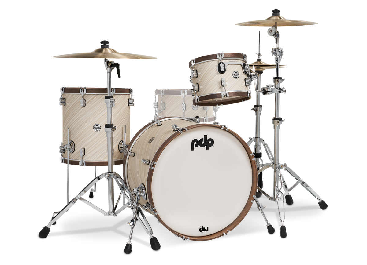 PDLT2213TI - Limited Edition – Twisted Ivory & Walnut Wood Hoop Kit