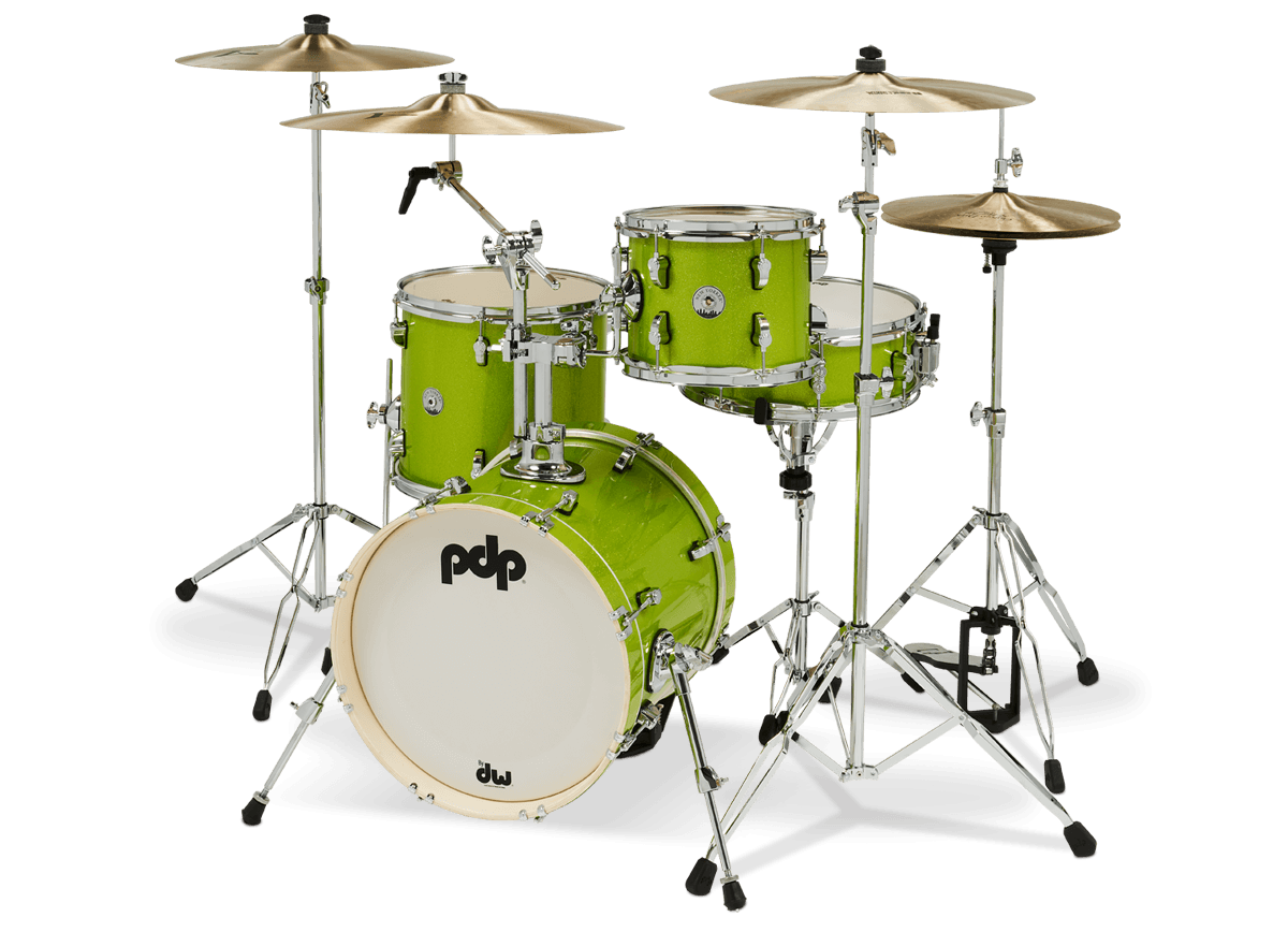 PDNY1604EL - New Yorker™ - Electric Green Sparkle - Left