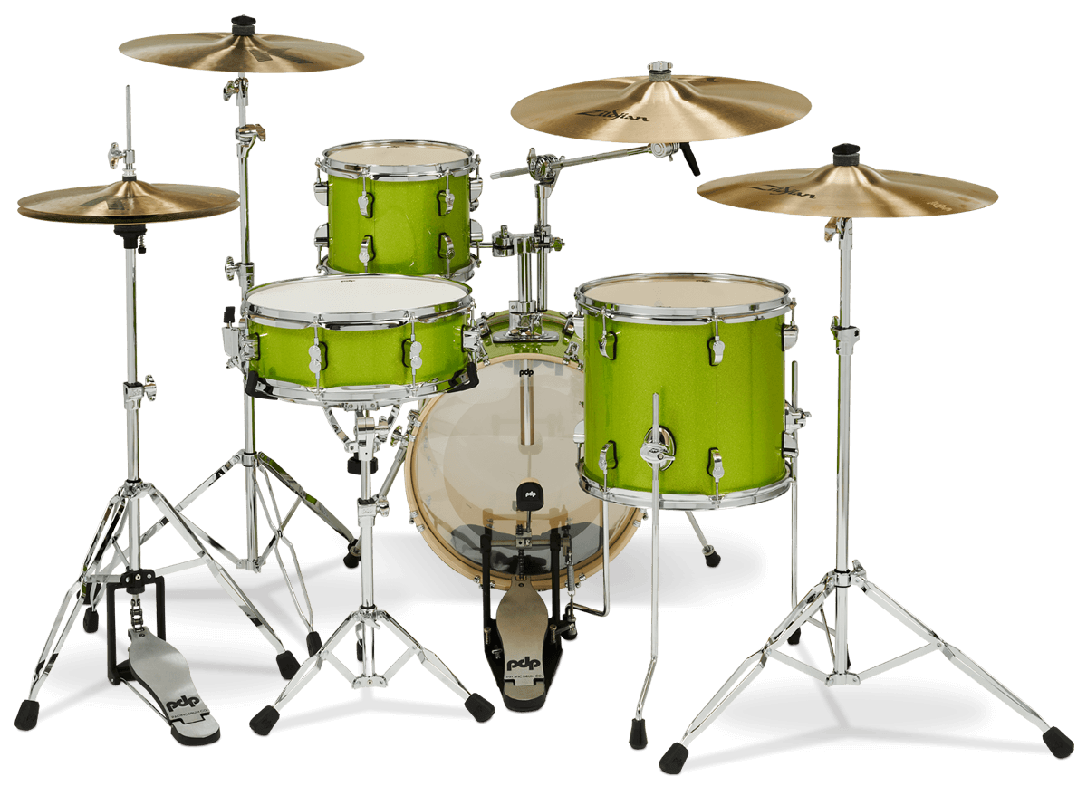 PDNY1604EL - New Yorker™ - Electric Green Sparkle - Player Perspective