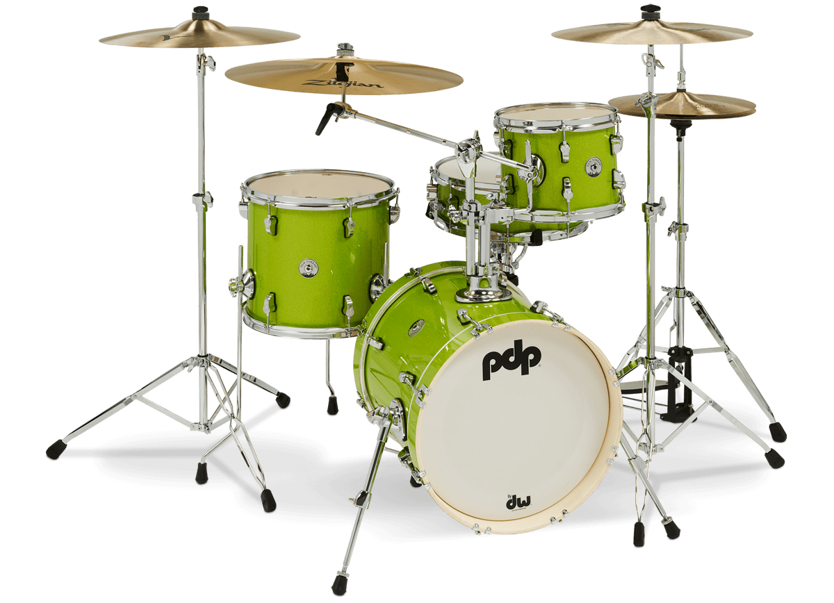 PDNY1604EL - New Yorker™ - Electric Green Sparkle - Right