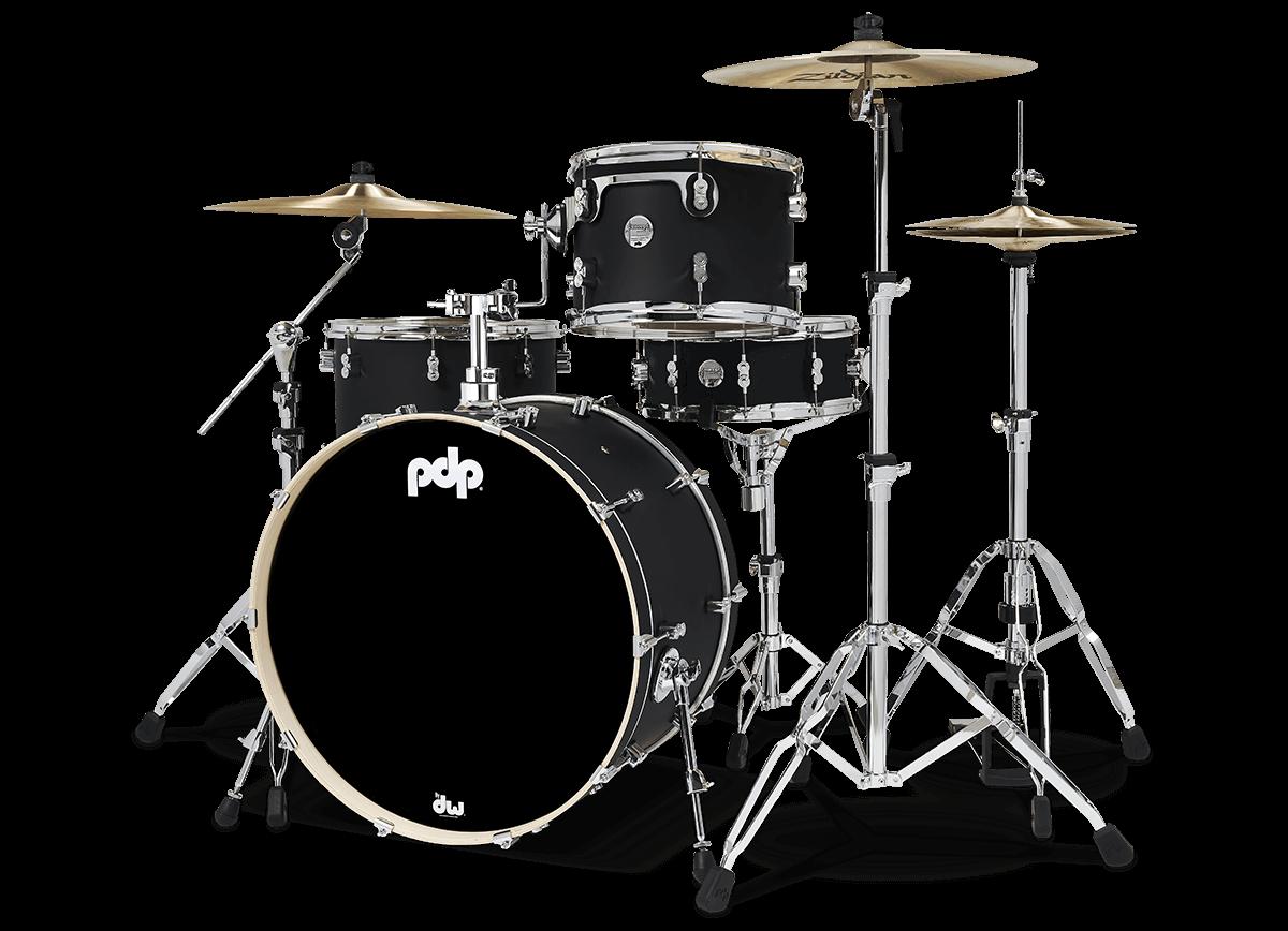 PDCM24RKBK - CM Rock - Satin Black - Left
