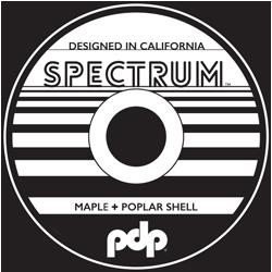 PDP Spectrum Badge