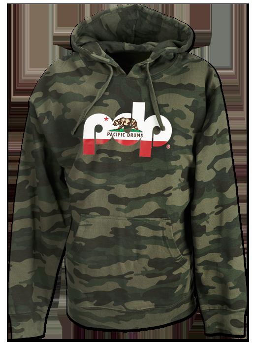 PR25PDPHOOD - PDP Cali Camo Hoodie