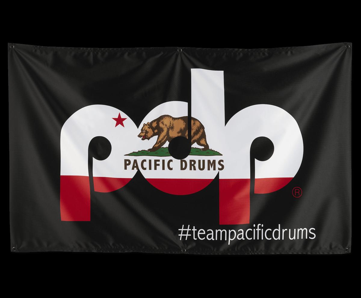 PRBA18PDP - PDP Banner, Cali Flag on Black 60in X 36in