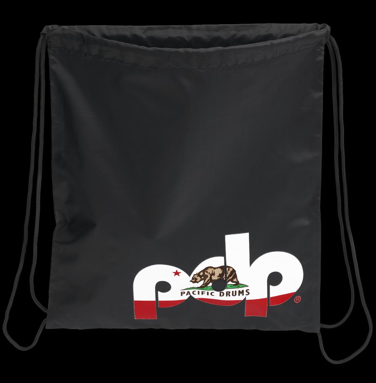 PRDSBAGBLK - PDP Black Cali Drawstring Bag