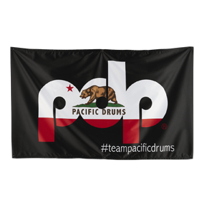 PRBA18PDP - PDP Banner, Cali Flag on Black 60in X 36in