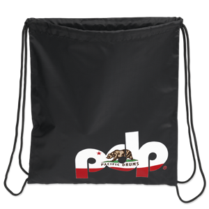 PRDSBAGBLK - PDP Black Cali Drawstring Bag