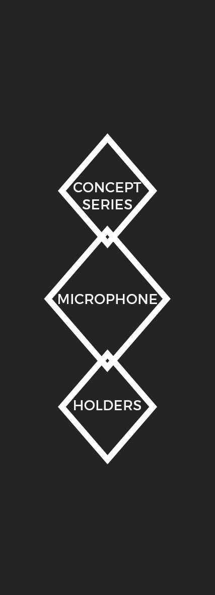 Concept Series Microphone Holders